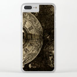 Time for the Train Clear iPhone Case