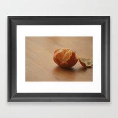 Oranges and...... Framed Art Print