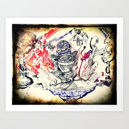 Beat of a Different Drum Art Print