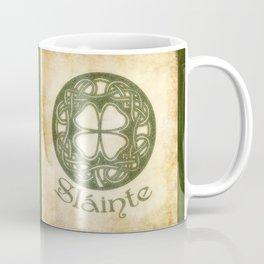 Slainte or To Your Health Coffee Mug