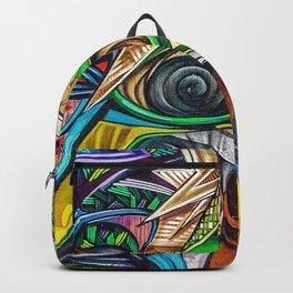 Colorful Graffiti Backpack