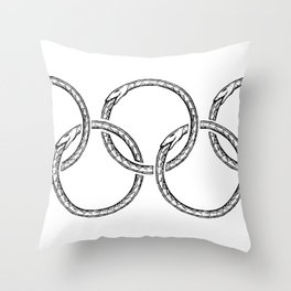 end games Throw Pillow