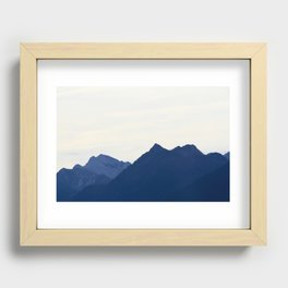 Blue Mountains Recessed Framed Print