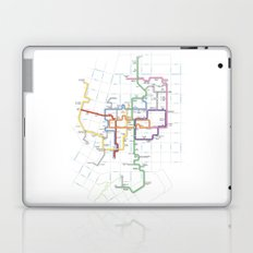 Minneapolis Skyway Map Laptop & iPad Skin