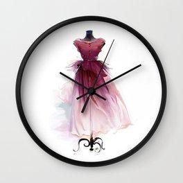 Beautiful dress Wall Clock
