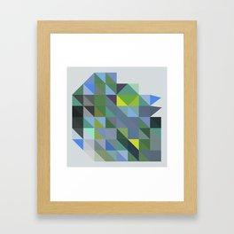 Triangulation  03 Framed Art Print