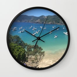 Put Your Anchor Down Wall Clock