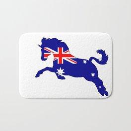 Australian Flag - Horse Bath Mat