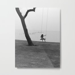 Swing along the Bay Metal Print