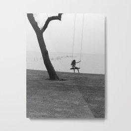 Swing along the Bay Metal Print