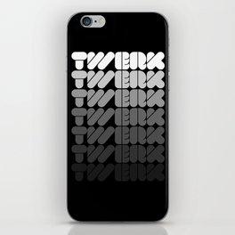 Twerk Forever iPhone Skin