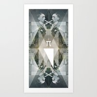 pi Art Prints featuring pi by Anna Pietrzak