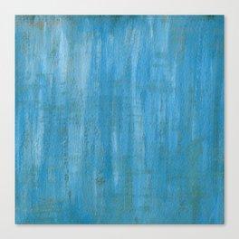Blue Paint Canvas Print