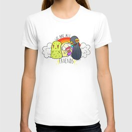 WE ARE ALL FRIENDS T-shirt