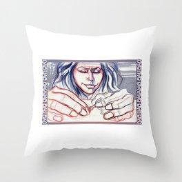 Fondle Throw Pillow