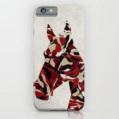 Camouflage Horse iPhone 6s Slim Case