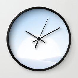 Minimal Beach Landscape 12 Wall Clock
