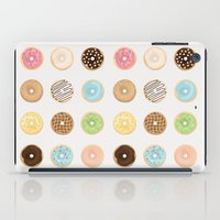 donut iPad Cases featuring Donut by Céline Dscps