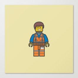 #10 Emmet Lego Canvas Print