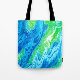 Blue & Green So Clean Tote Bag