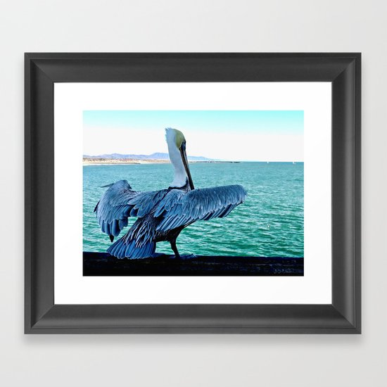 Ready for Takeoff Framed Art Print