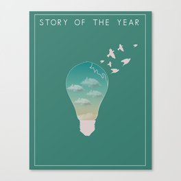 Story of the year print Canvas Print