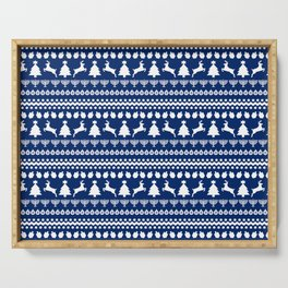 Ugly Chrismukkah Sweater Serving Tray