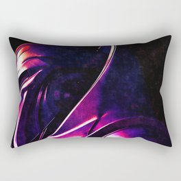 """Some Kinda' Crazy, Frakked Up Cylon Signal..."" Rectangular Pillow"