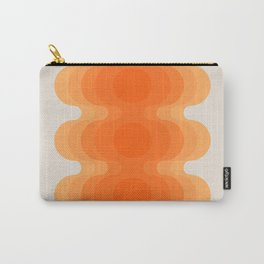 Echoes - Creamsicle Carry-All Pouch