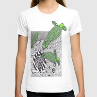 turtles T-shirts featuring Turtles by Kandus Johnson