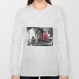 jacke the ripper in the street Long Sleeve T-shirt