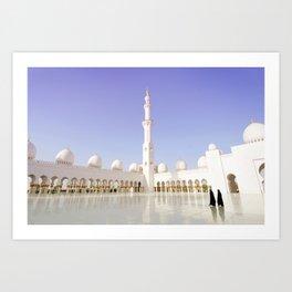 Women at Mosque Art Print