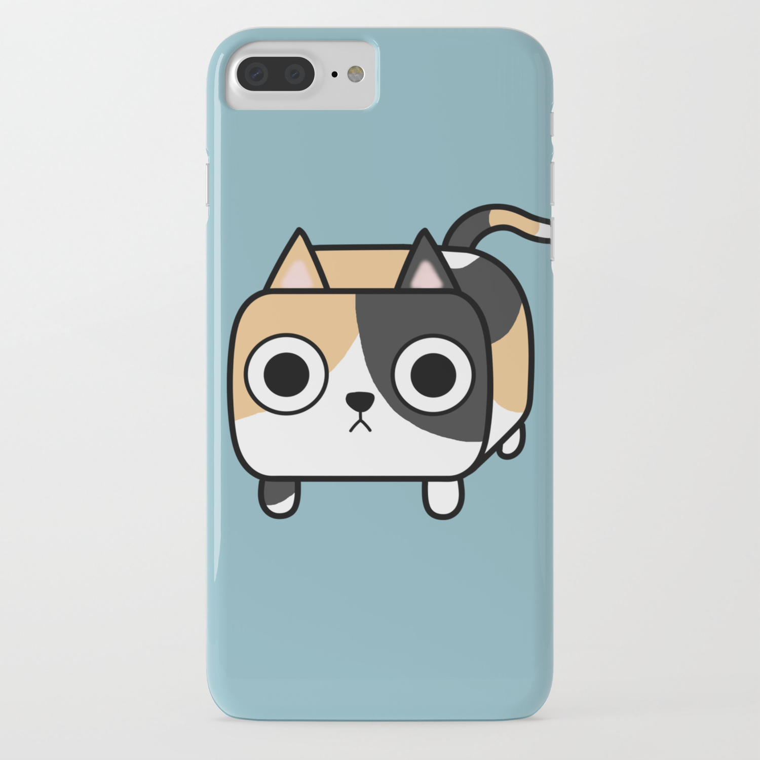 the best attitude d8639 54d6e Cat Loaf - Calico Kitty iPhone Case