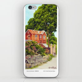 House on the Mound BARBADOS iPhone Skin