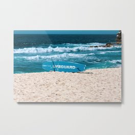 Bronte Beach Rescue. Sydney. Australia. Metal Print
