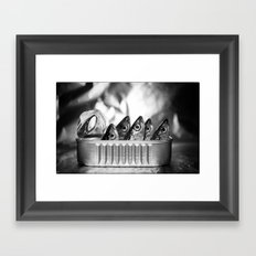 Sardines Framed Art Print