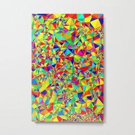 Abstract Pattern XIV Metal Print