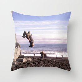 Fearless For Iceland Throw Pillow