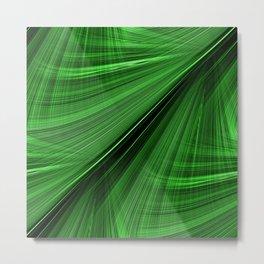 GORGEOUS GREEN Electric Highway Metal Print