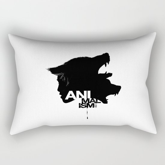 Wolf Kind Rectangular Pillow
