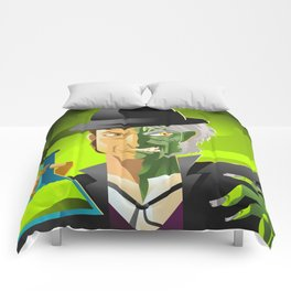 doctor jekyll and mister hyde monster tranformation with green potion Comforters