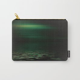 Light-Green sea at twilight Carry-All Pouch