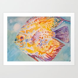 Beautiful Sea Fish Art Print