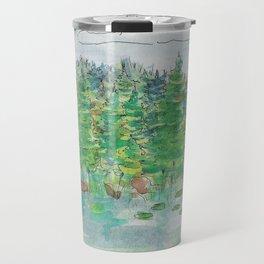 Watercolour - Lake, St. John's, Newfoundland 2 Travel Mug