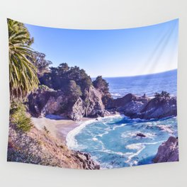 McWay Falls ~ Big Sur, California ~ West Coast Adventures Wall Tapestry