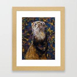 Regal Ferret Framed Art Print