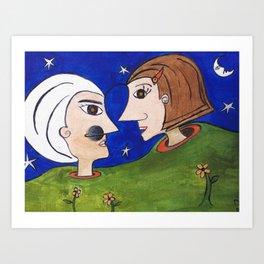 Saturno Art Print