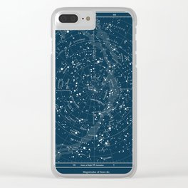 Visible Constellations Astronomy Astrology Clear iPhone Case