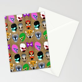 Lucha World Stationery Cards