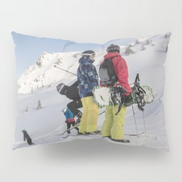 Skiers 2017 Pillow Sham